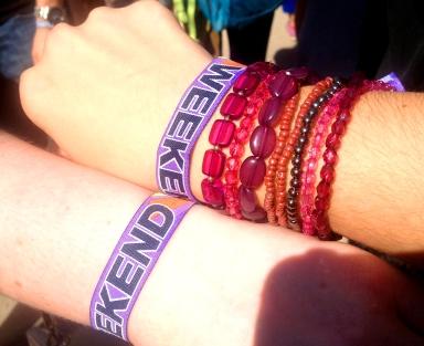 DEMF wristbands