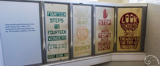 Pylon Lookout panel signs