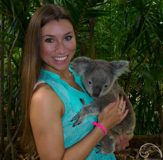 Amanda-travel-blogger-koala